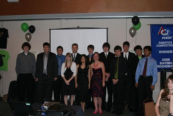 Robotics Banquet May 2009