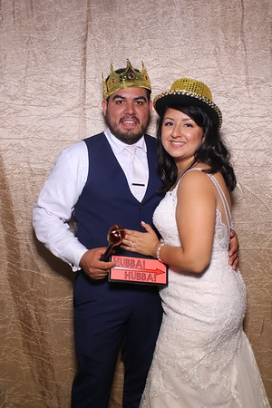 Teresa and Guillermo Wedding Mirror Booth 2019