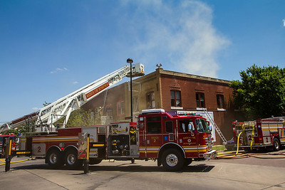 2-Alarm Building Fire Douglas & Walnut (7/6/12)