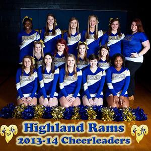 2013-14 Highland Tech Cheerleading