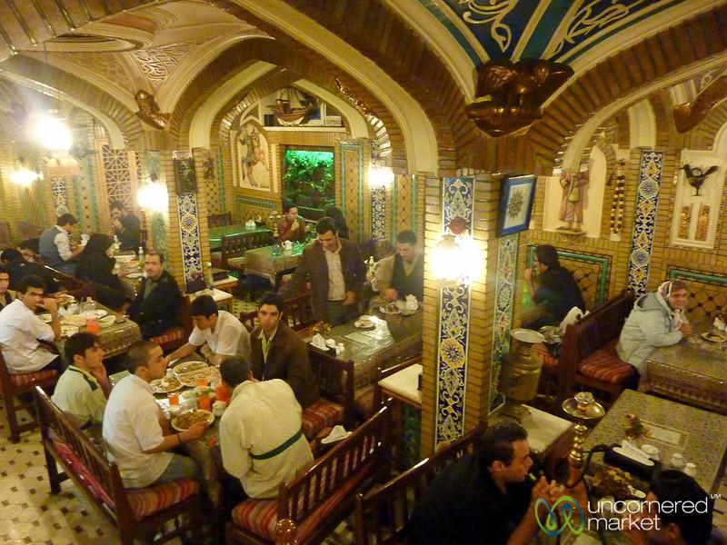 Tehran Restaurant and Tea House - Tehran, Iran