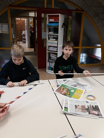 6de leerjaar - Newspaper project