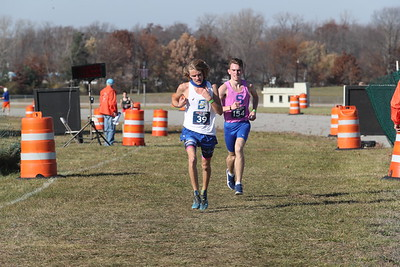 D4 Boys at 2 Miles Section 2 - 2020 MHSAA LP XC