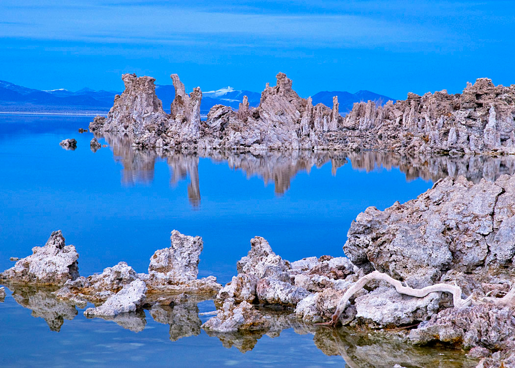 Early Winter Light on Mono Lake
