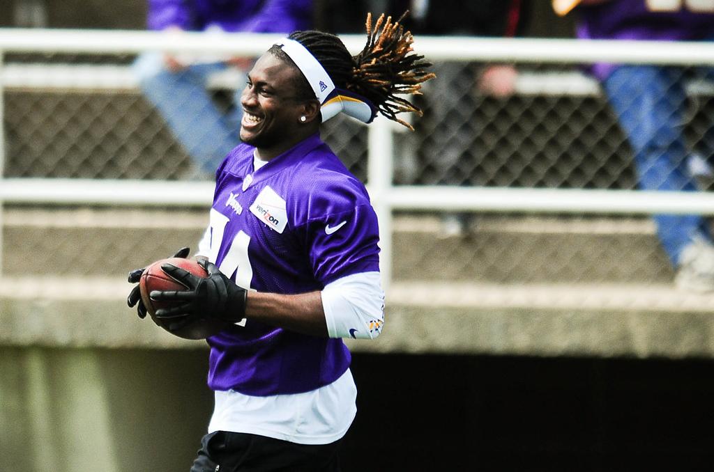 . Minnesota Vikings wide receiver Cordarrelle Patterson. (Pioneer Press: Ben Garvin)