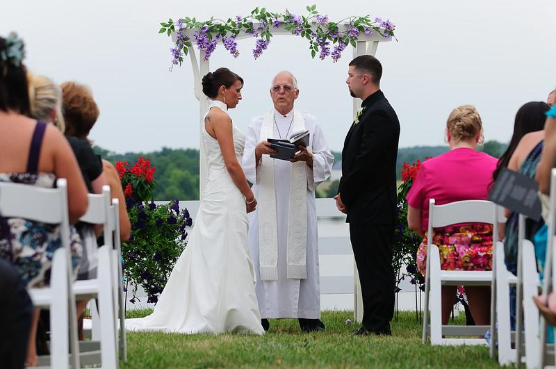 Jenn & Randy wedding ceremony
