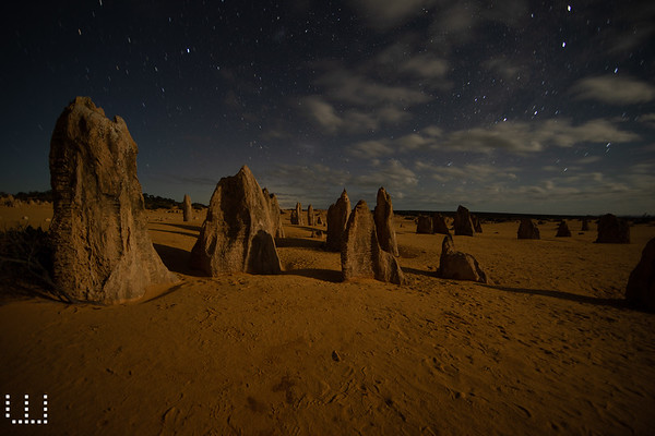 Pinnacles by Night