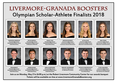180521 BOOSTERS OLYMPIAN SCHOLAR ATHLETE AWARDS BANQUET (ASSETS)