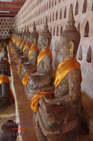 The Buddhas of Vientiane, Laos