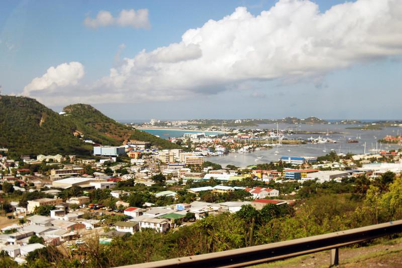 View of St. Maarten, Netherlands Antilles