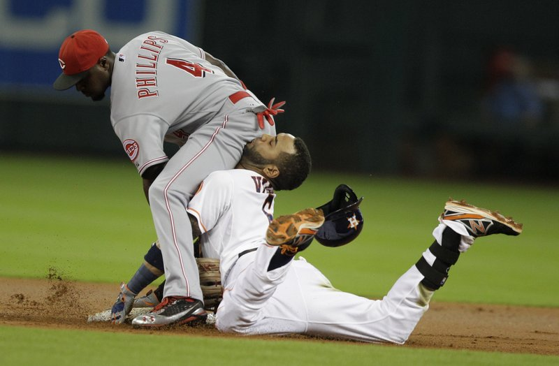 """. <p>7. HOUSTON ASTROS  <p>Jonathan Villar�s now-infamous slide is fitting, because this team has been playing like ass for the past five years. (1) <p><b><a href=\'http://www.nydailynews.com/sports/baseball/astro-slides-face-first-phillips-fanny-article-1.1459865\' target=\""""_blank\""""> HUH?</a></b> <p>   (AP Photo/Houston Chronicle, Melissa Phillip)"""