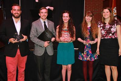 Student Leadership, Service, Volunteerism Recognition 2014