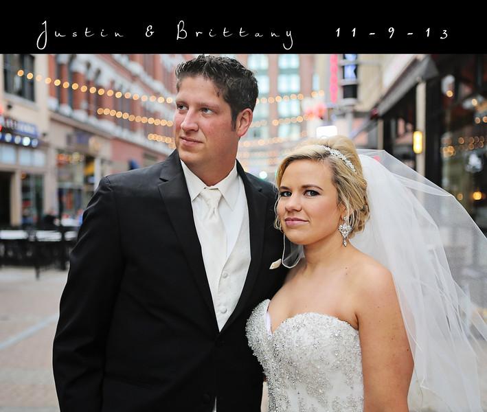 Brittany & Justin 13x11 Wedding Album