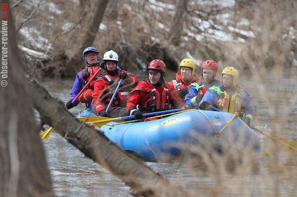 Keuka Outlet Swiftwater Training 3-27-14