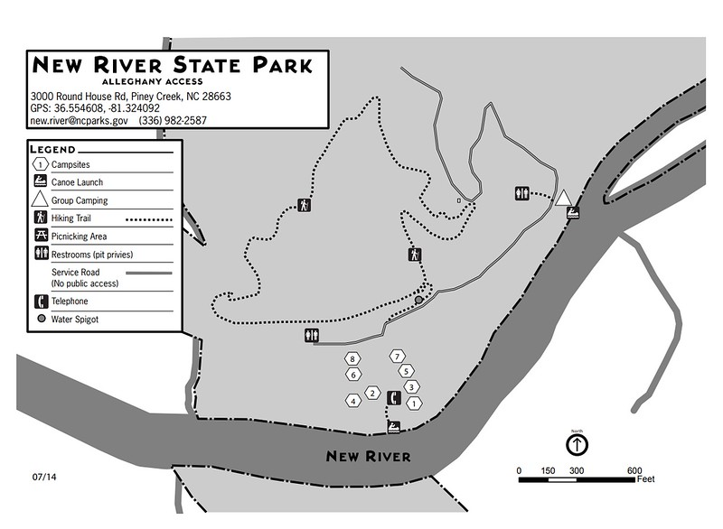 New River State Park (Alleghany County Access Campground)