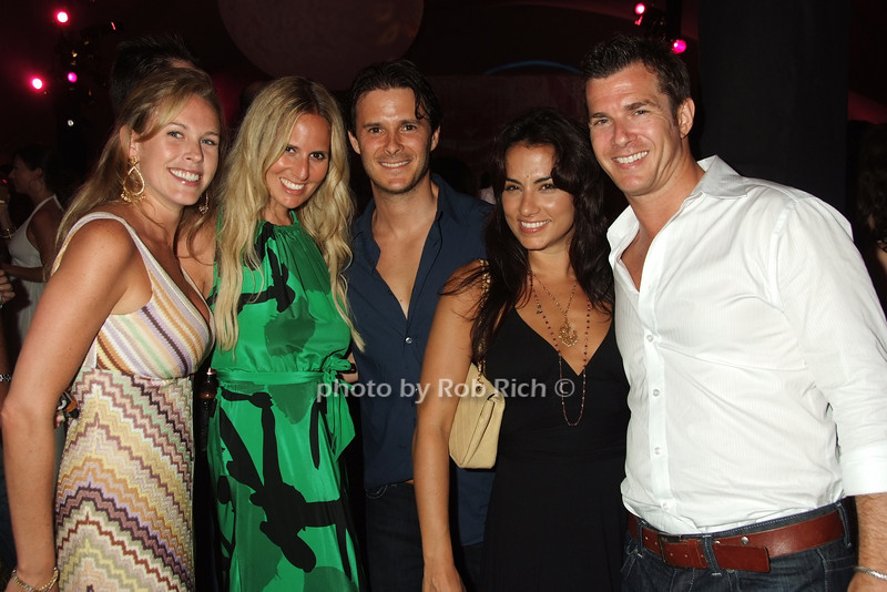 Jennifer Ireland, Caroline Levinbook, David Levinbook, Gina Ganoniga, guest photo by Rob Rich © 2008 robwayne1@aol.com 516-676-3939