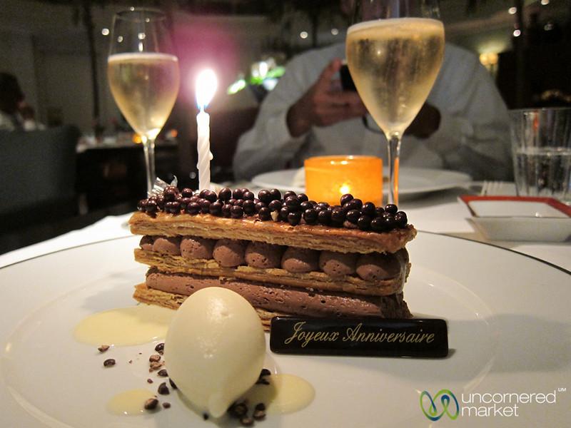 Birthday Dinner at Shangri-La Paris Hotel