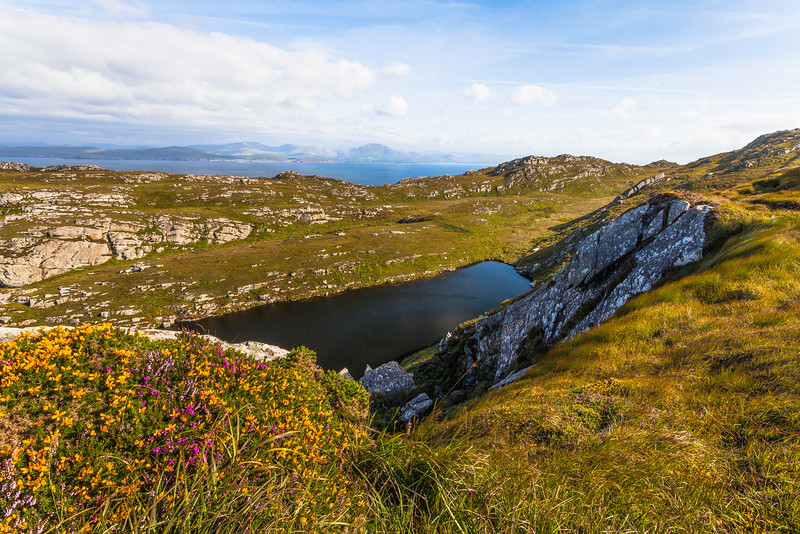 Lough Akeen, Sheep's Head, Ireland