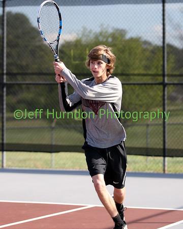 UGHS Varsity Tennis Boys 3-30-15