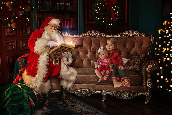 Jones Santa Photo