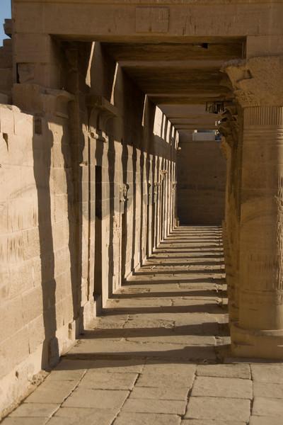 Pillars 7 - Philae Temple, Aswan, Egypt