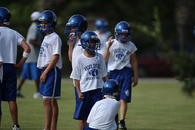 St. Anne Football Practice