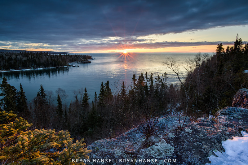 Early Spring over Lake Superior