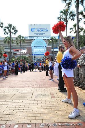 Gator Walk Georgia Southern Game 11-23-13