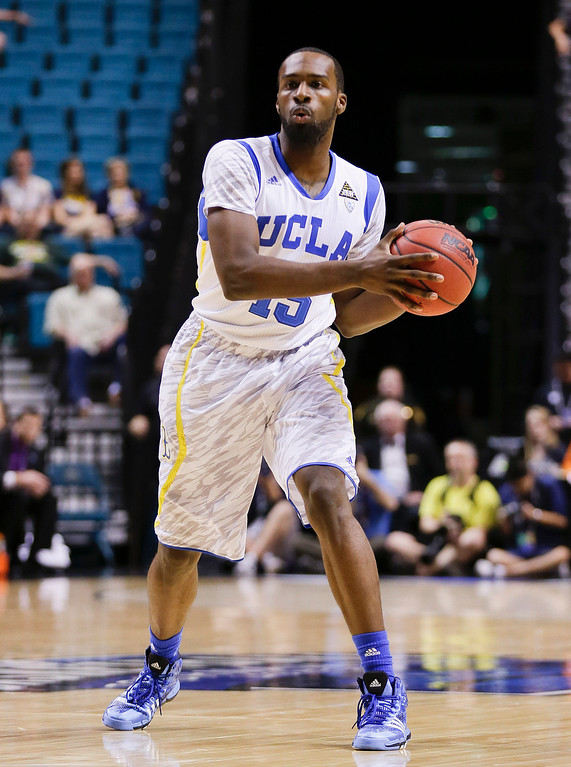 . <b>Shabazz Muhammad </b> <br />Guard, 6-6, 225. Averaged 17.9 points and 5.2 rebounds as a freshman last year at UCLA. Everybody\'s favorite enigma, who knows where he will land? Lefty with a quick release and a scorer\'s mentality, but questions surround maturity and selfishness.  (AP Photo/Julie Jacobson)
