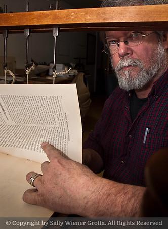 Don Rash, bookbinder