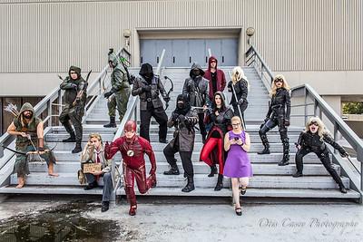 Arrow & Flash Shoot 2015