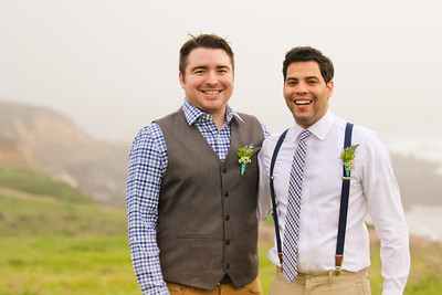 AJ + Rafael Married on Cambria Bluff