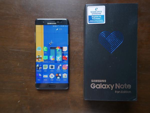 Samsung Note FE Fan Edition