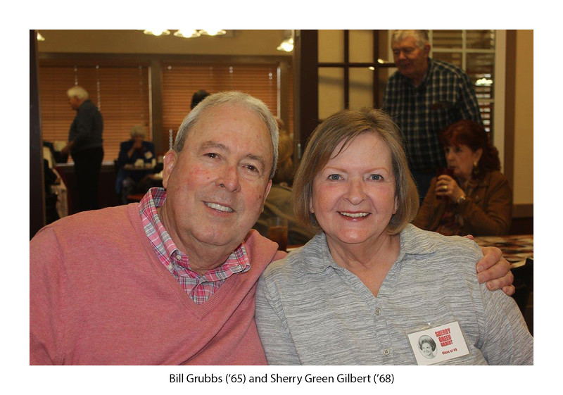 Bill Grubbs '65 and Sherry Green Gilbert '68.jpg