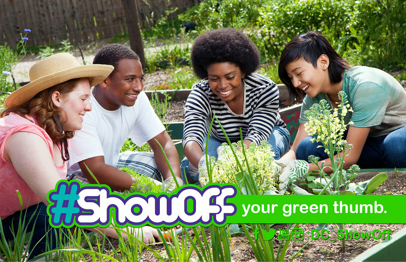 #ShowOff Your Green Thumb: Promotes engagement in gardening and other talents.