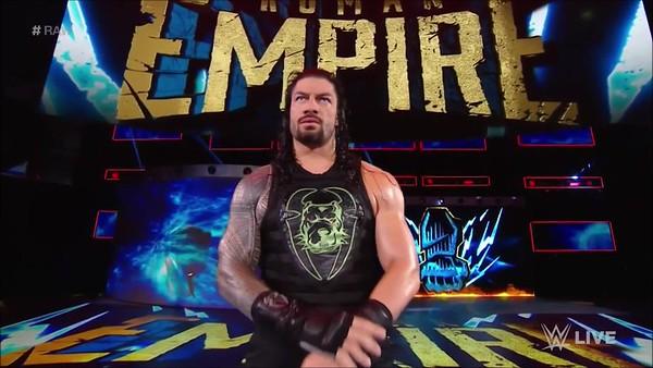 Roman Reigns - Raw Screencaps (June 24, 2019)