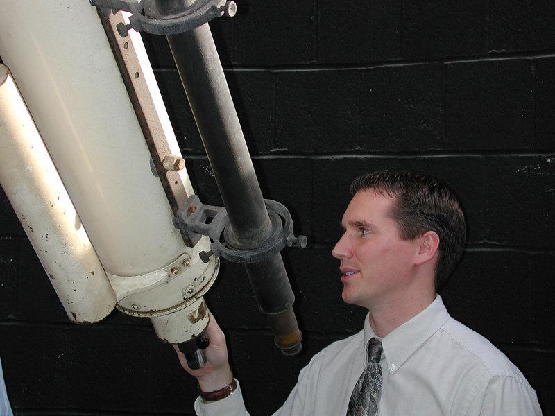 Jason and the telescope.