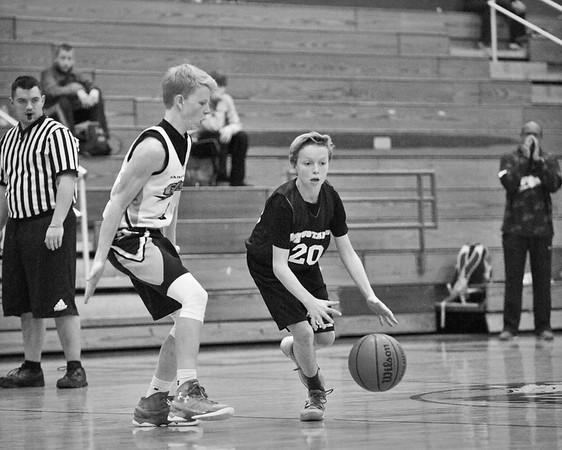 7th Grade League Play 1/24/16