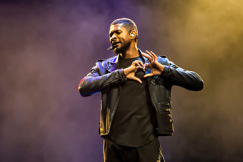Usher Performs for the URX Tour @ KeyArena in Seattle, WA
