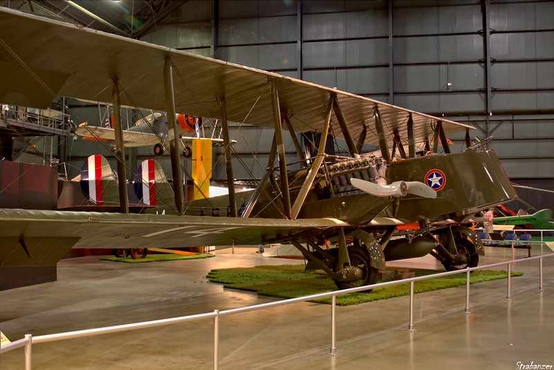 National Museum of the United States Air Force, Dayton, Ohio,   04/12/2019  Martin MB-2 (NBS-1)    This is a full-scale reproduction   constructed from original drawings. In back is a Douglas O-38F C/N: 1177    33-0324  This work is licensed under a Creative Commons Attribution- NonCommercial 4.0 International License.
