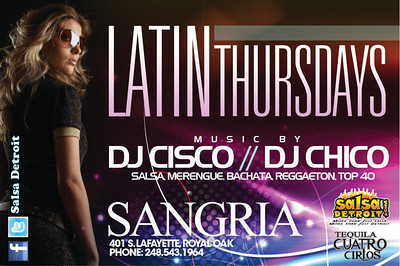 Sangria 1-17-13 Thursday
