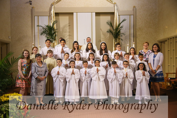 Holy Trinity First Communion 2017