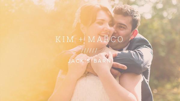 KIM + MARCO ////// JACK'S BARN