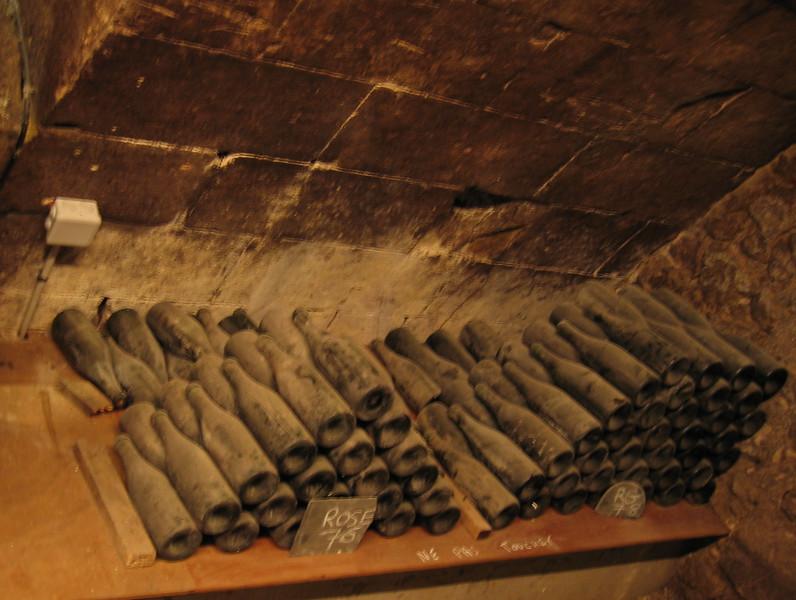 Wine cellar in Chenonceau