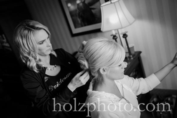 Tiffany & Jimmy B/W Wedding Photos
