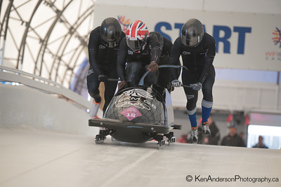 2014 FIBT Bobsleigh 4 Man  North America's Cup