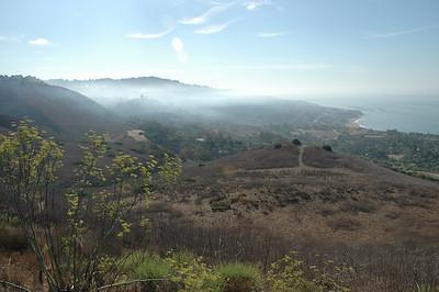 Rancho Palos Verdes Aug 09 Fire Portugese Bend
