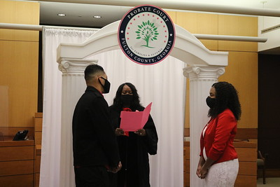 Marriage Ceremonies for Valentine's Day Weekend 2/12/21
