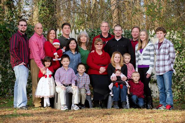 Caffey Family Portraits