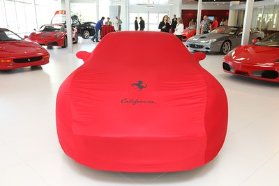 Ferrari California Unvieling